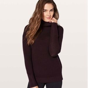 Lululemon Warm and Restore Turtleneck Sweater